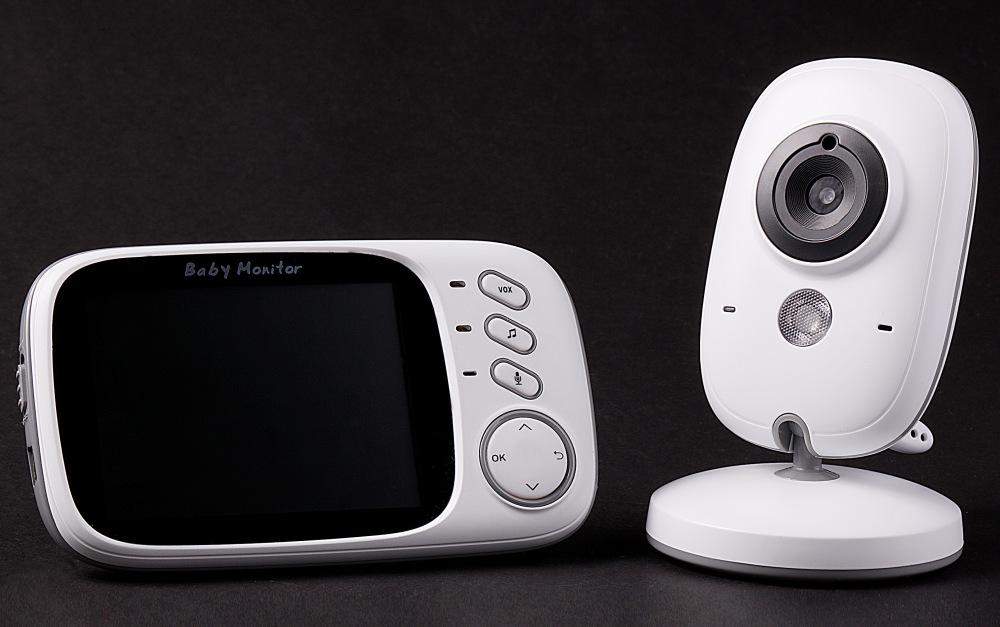 Wireless baby care monitor
