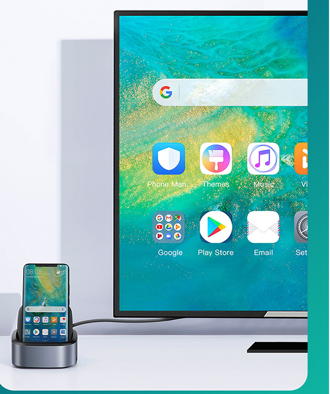 Phone and TVS modes