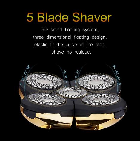 Jinding Electric Shaver For Men beard trimmer men shaving machine rechargeable beard shaver waterproof