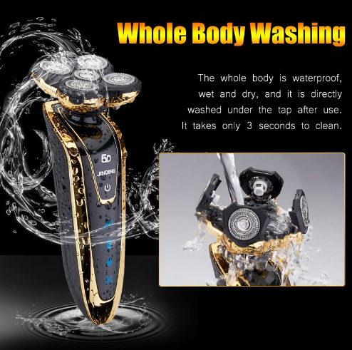 beard trimmer men shaving machine rechargeable beard shaver waterproof